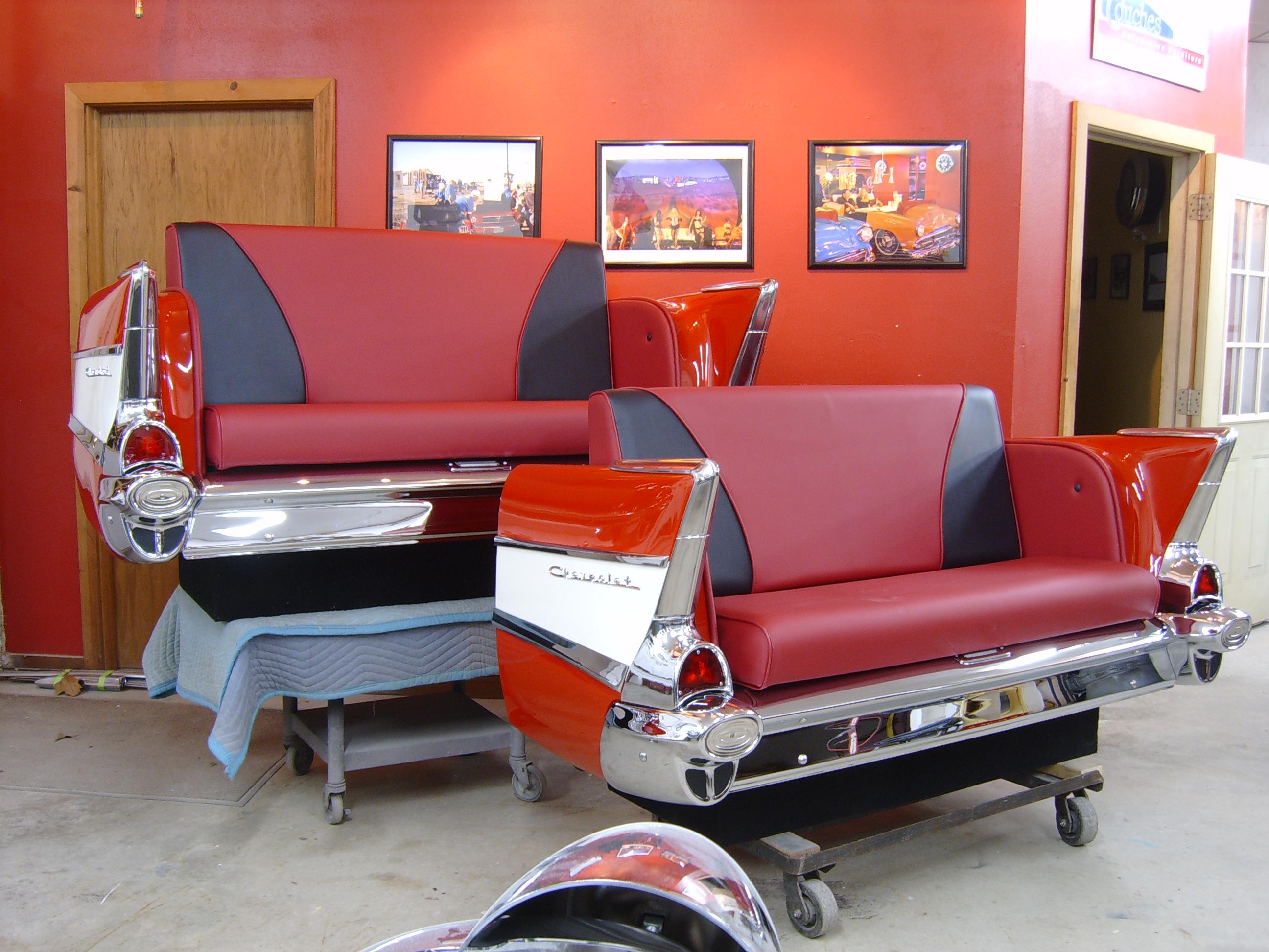 New Retro Cars Restored Classic Car Furniture And Decor American New Retro Automobile Furniture