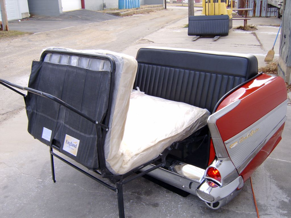 57 Chevy Couch