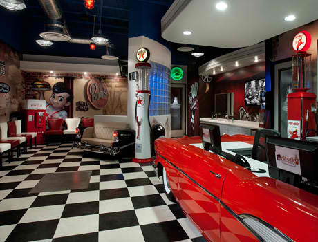 New Retro Cars Restored Classic Car Counters And Point
