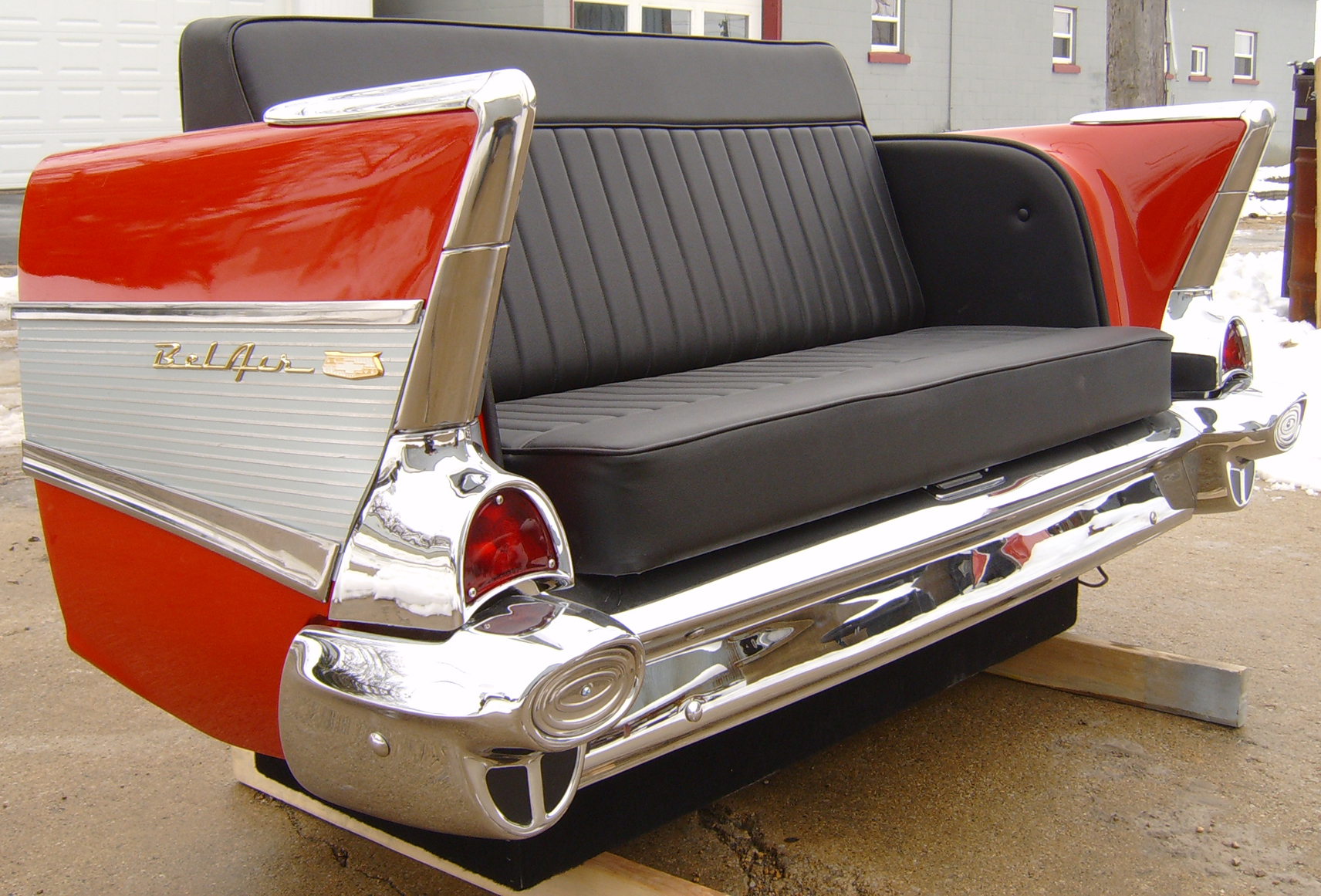 Classic Car Bench Diner