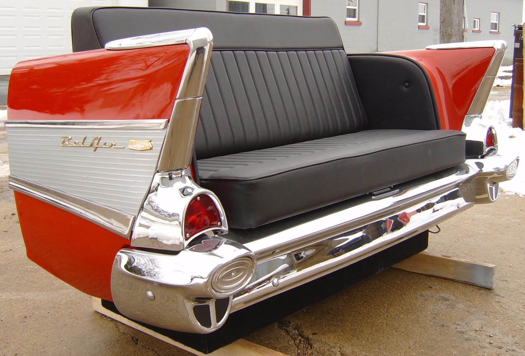 New Retro Cars Restored Classic Car Furniture And Decor
