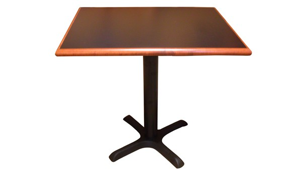 Restaurant Table Top with DWB-125 Wood Edge