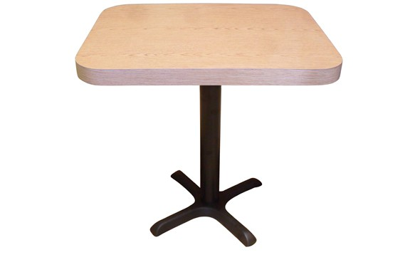 Restaurant Self Edge Laminated Table with 2.25 inch Edge