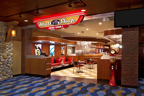 777 Malt Shop and Grill at the Seven Clans Casino, MN
