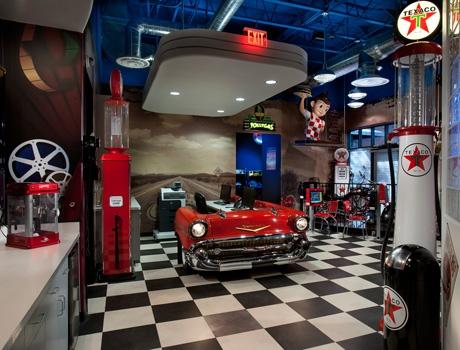 New Retro Dining Restaurant Furniture Dinette Sets Bar
