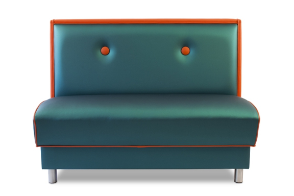 The Button Back Bench with Legs