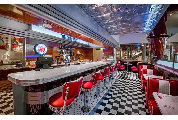 New Retro Design Restaurant And Hospitality Design