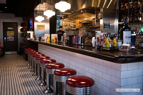 New retro design restaurant and hospitality