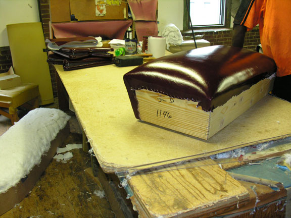 Hand Crafted Upholstery Construction