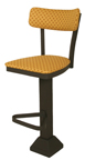 Click Here for Information on the 1800-OX-50 Oxford Pedestal Base Return Swivel Sled Back Stool