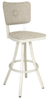 600-OX-10 Oxford Button Back Barstool