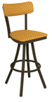 Click Here for Information on the 600-OX-50 Oxford Free Standing Swivel Sled Back Stool