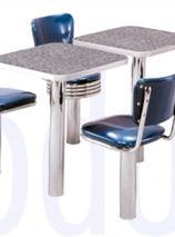 Click on Image for Retro Modular Seating with Backs Details