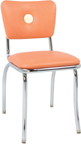 921bb - Classic Retro Diner Button Back Chair
