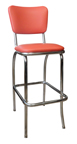 921 BS - New Retro Dining Curved Back Stool