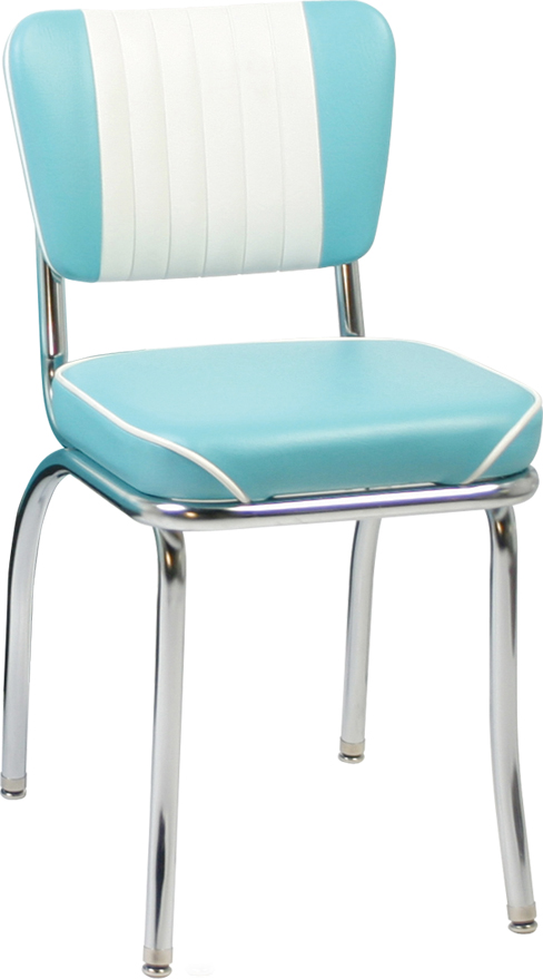 Mbwf new retro dining malibu back diner chair