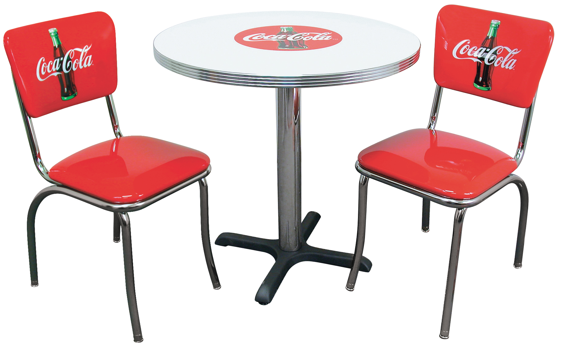 new retro dining coca cola furniture. Black Bedroom Furniture Sets. Home Design Ideas