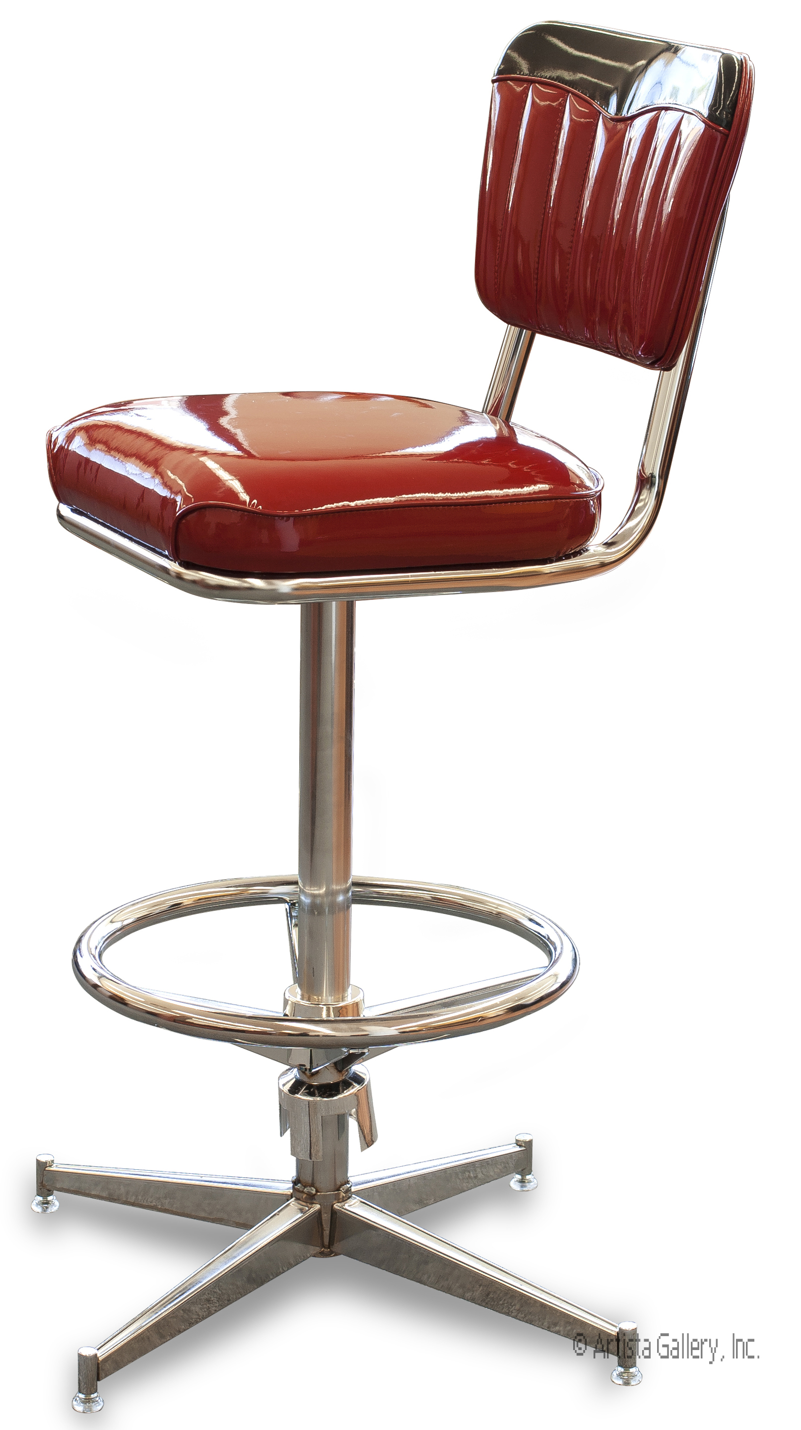 Bar Stool 2899 Channeled Back Chevie Head Roll Bar  : 2899cheviestoolsideviewlarge from www.newretrodining.com size 1614 x 2879 jpeg 1523kB