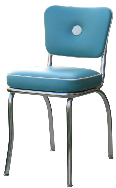 Diner Chair   4170   Button Back Diner Chair   Retro Diner Chair   Retro  Kitchen Chairs