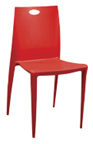 LKE-100 Retro Resin Stacking Chair