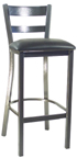 Click Here for Information on the LSC-1250 Legends Horizontal Slat Back Stool