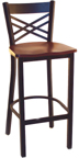 Click Here for Information on the LSC-1450 Legends Cross Strap Back Stool
