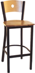 Click Here for Information on the LSC-1550 Legends Wooden Moon Back Stool