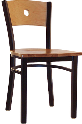 LSC 550 New Retro Dining Classic Wooden Moon Back Chair