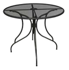 Outdoor Micromesh Butterfly Table