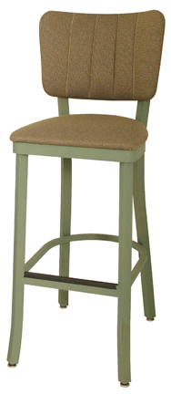 Ox-130 BS Oxford Channel Back Bar Stool