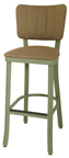 Click Here for Information on the OX-130 BS Oxford Free Standing Channel Back Stool