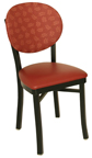 OX-20 - Oxford Metal Round Back Chair Chair