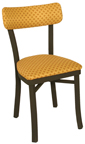 OX-50 - Oxford Metal Sled Back Chair