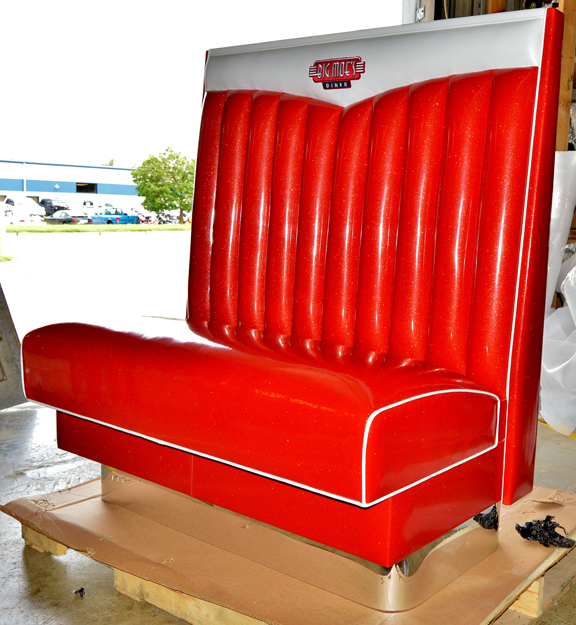 Big Moe's Diner Prototype Chevy Bench