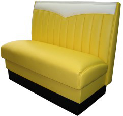 CH-1 Chevie Bench in Yellow