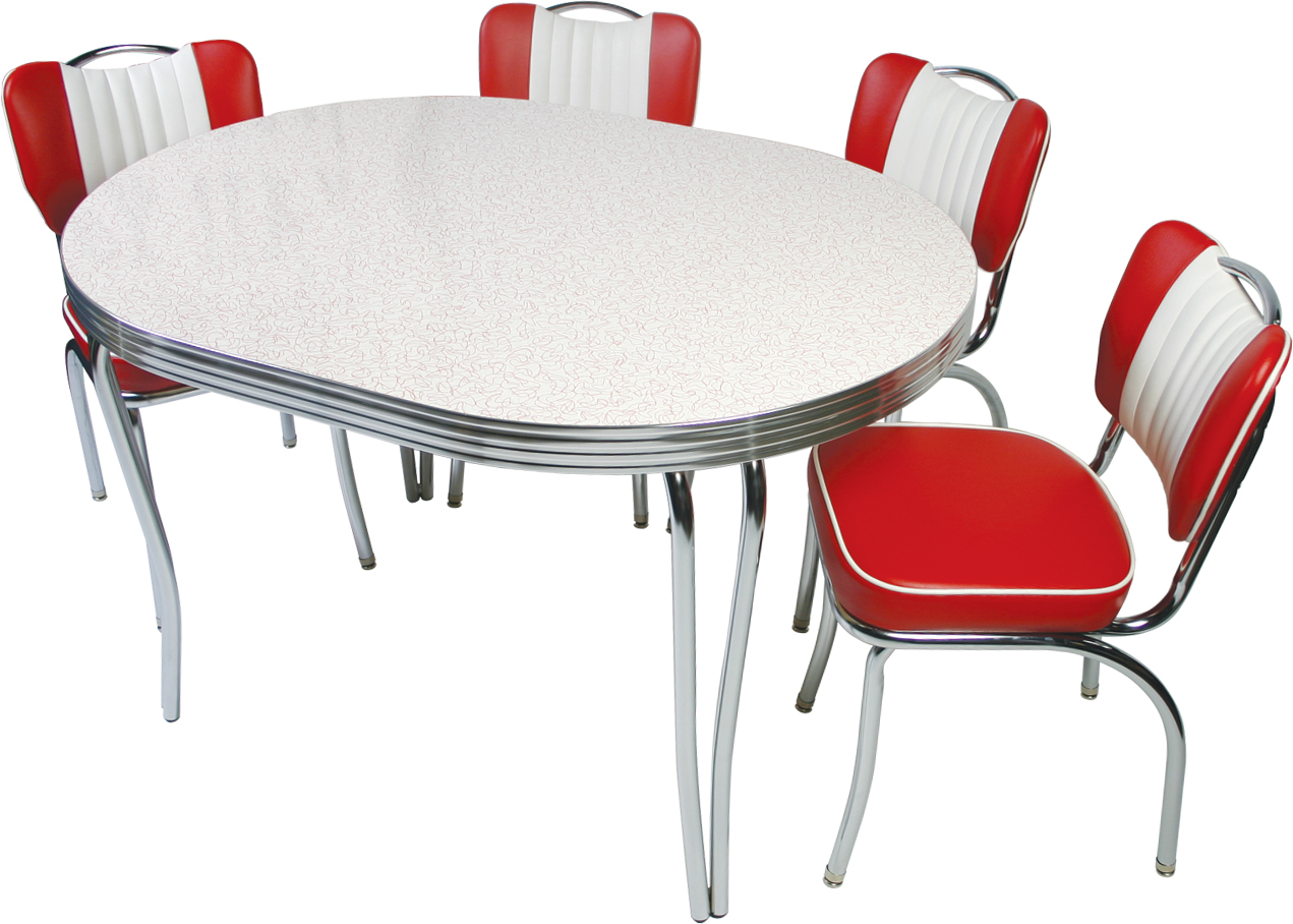 Image of: Rdrtac47 Retro Dining Room Table And Chairs Wtsenates