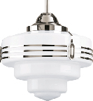 LH-10,  Retro Deco Diner Light Fixture
