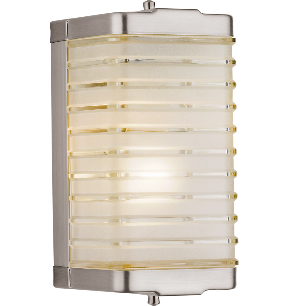 Mid Century Modern Outdoor Wall Lights : LH-13 - New Retro Glass Wall Sconce