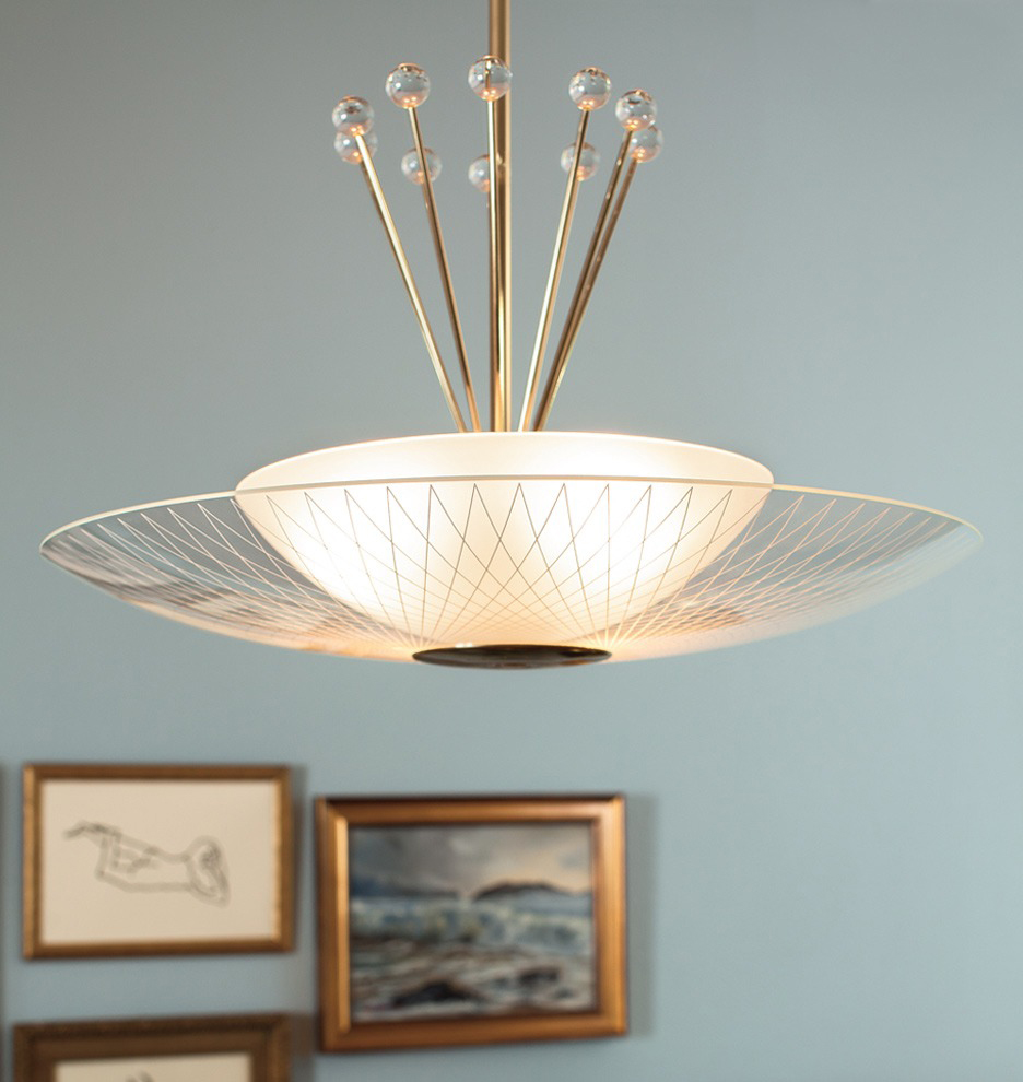 LH-21 New Retro Dining Space Age Pendant Light Fixture