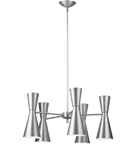 LH-8,  Retro Space Age 10-Light Chandelier