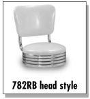 782RB Stool Heads