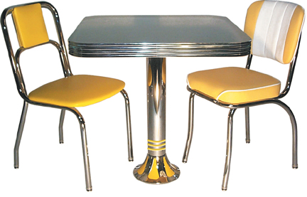 new retro dining restaurant furniture dinette sets bar stools