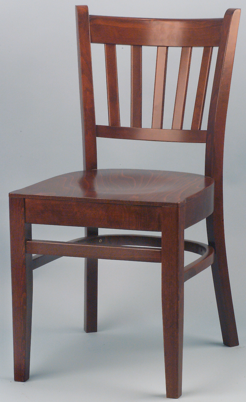 WLS 100 Woodland Slat Back Dining Chair