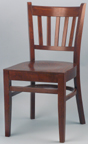 WLS-100 - Slat Back Wood Chair