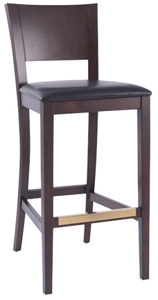 WLS-1135-BS New Retro Dining Flatback Stool
