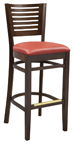 WLS-1145-BS Woodland Horizontal-6 Dining.Chair
