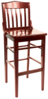 WLS-1180-BS Schoolhouse Barstool