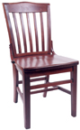 WLS-180 New Retro Dining Woodland Schoolhouse Syle Chair