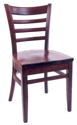 WLS-300 Woodland Ladder Back Dining Chair.