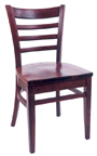 WLS-300 - Ladder Back Wood Chair